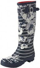 JoulesWellyprint - Wellingtons da Lavoro Donna, Blu (Blue (French Navy Posy Stripe)), 40/41