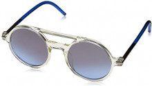 Marc Jacobs Marc 45/S I5 TMD 48, Occhiali da Sole Unisex-Adulto, Blu (Crystal Blue/Grybl SIL Grey Speckled Gr)