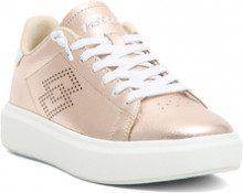 Sneaker bassa Impressions da donna rosa metallizzato