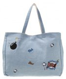 Shopping bag - medium jeans