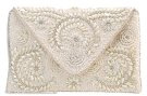 Pochette - cream/white/multi