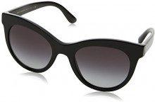 Dolce & Gabbana 0DG4311 501/8G 51, Occhiali da Sole Donna, Nero (Black/Gradient)