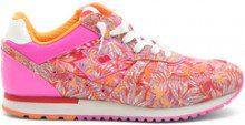 Sneakers da donna Tokyo Shibuya a fantasia rosa e arancione