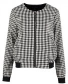GINGHAM  - Giubbotto Bomber - black