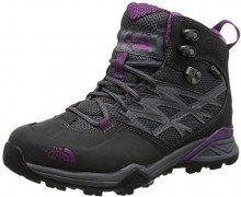 The North Face Hedgehog Hike Mid Gore-Tex, Scarpe da Arrampicata Alta Donna, Grigio (Dark Shadow Grey/Wood Violet), 40 EU