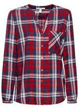 ESPRIT 128ee1f003 Camicia Donna, Multicolore (Red 630) 44 (Taglia Produttore: 38)