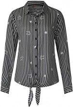 Street One 341221, Camicia Donna, (Black 20001), 52 (Taglia Produttore: 46)