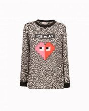 Top Animalier Con Cuore Stile Video-game