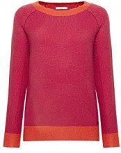 edc by Esprit 108cc1i011, Felpa Donna, Rosa (Pink Fuchsia 5 664), X-Small