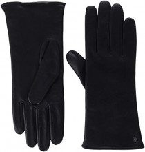 Roeckl Classic Wool, Guanti Donna, Nero (Black 000), 8