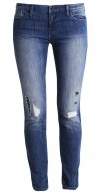 Jeans Skinny Fit - denim indaco