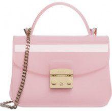 FURLA CANDY mini borsa a bandoliera rosa chiaro