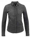 ANEHA - Camicia - silk black denim