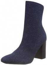 BIANCO Knit Boot, Stivali Donna, Blu (Navy Blue 305), 38 EU