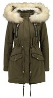 LUXE - Parka - dark green