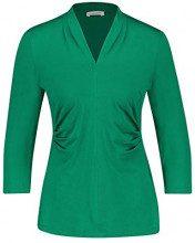 Gerry Weber 170215-35015, Maglia a Maniche Lunghe Donna, Verde (Leaf 50866), 54 (Taglia Produttore: 48)