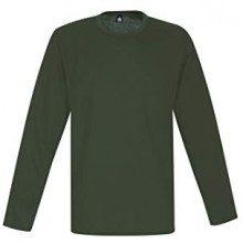 Trigema 536501, Maglia a Maniche Lunghe Donna, Verde (Khaki 155), X-Large