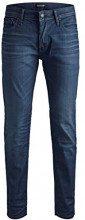 JACK & JONES Jjitim Jjoriginal Jj 320 Noos, Jeans Slim Uomo, Blu Blue Denim, W30/L32