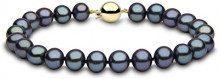 Kimura Pearls FINENECKLACEBRACELETANKLET - Gioiello da polso, con Perla, oro giallo, 19 centimeters null null null null