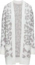 Cardigan leopardato