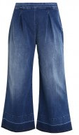 Jeans a zampa - royal blue stretch