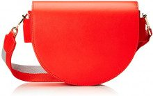 Liebeskind Berlin, Borsa a tracolla Donna, Rosso (Rosso (summer red 3062)), 6x27x20 cm (B x H x T)