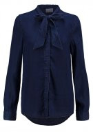 VMNANNA - Camicia - dark blue denim