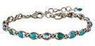MAGIC FIREBALL - Bracciale - blue/green