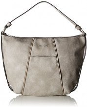 Mustang Omaha Erin Hobo Lhz - Borse Tote Donna, Grigio (Light Grey), 7x28x36 cm (B x H T)