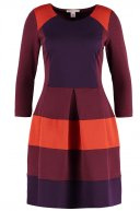 Vestito di maglina - burgundy