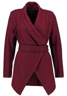 Cappotto corto - bordeaux red