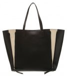 Shopping bag - black/creme