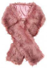 New Look Faux Fur6035021, Stola Donna, Rosa (Mid Pink 73), Unica (Taglia Produttore: 99)