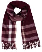 Miss Selfridge Sciarpa burgundy