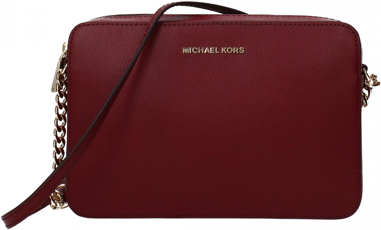 c11218de58 Borse a Tracolla Michael Kors crossbodies lg Donna Rosso | Sconto 15 ...