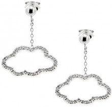 Gioielli per tutti–Orecchini pendenti donna, in argento 925zirconi–1905124rh