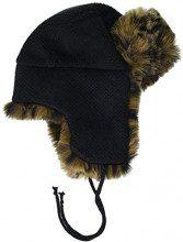 New Look Leopard Faux Fur Trapper 6081830, Cappellopello Donna, Marrone (Brown Pattern 29), Unica (Taglia Produttore: 99)