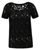 ONLHABEL - T-shirt con stampa - black