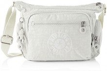 Kipling Gabbie S - Borse a tracolla Donna, Bianco (Lively White), 16.5x29x22 cm (B x H T)
