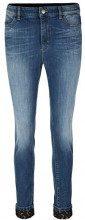 Marc Cain Sports Straight Jeans (gerades Bein), Donna, Mehrfarbig (Blue Denim 353), W30/L32