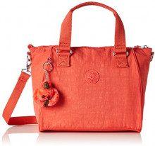 Kipling Amiel - Borse a secchiello Donna, Orange (Galaxy Orange), 27x24.5x14.5 cm