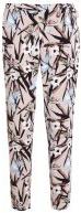 Pantaloni - brown floral print
