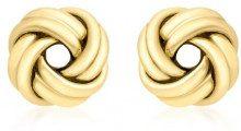 Carissima Gold Orecchini a Perno da Donna, Oro Giallo 9K (375)