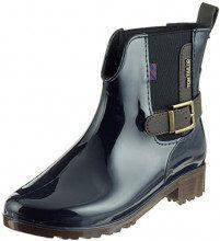 Tom Tailor 5892305, Stivali di Gomma Donna, Blu (Navy 00003), 41 EU