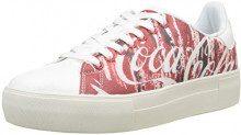 Desigual Shoes_Star Coca, Scarpe da Ginnastica Basse Donna, Rosso (Rojo Cola 3054), 37 EU