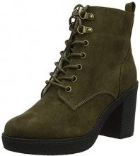 New Look Wide Foot Connie, Stivaletti Donna, Verde (Dark Khaki 34), 42 EU