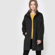 Cappotto ampio, 50% lana
