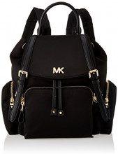 Michael Kors Mott Md Backpack - Borse a zainetto Donna, Nero (Black), 12x28x30 cm (W x H L)