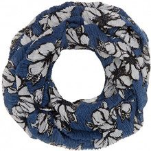 Tom Tailor Amazing Flower Loop, Cappello in felto Donna, Blu (Real Navy Blue 6593), Taglia Unica