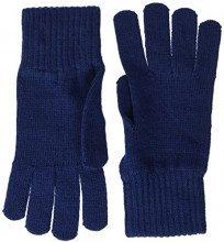Tommy Hilfiger Basic Knit Denim Gloves, Guanti Donna, Blu Navy, Unica (Taglia Produttore: OS)